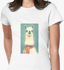 Llama Women's Fitted T-Shirt
