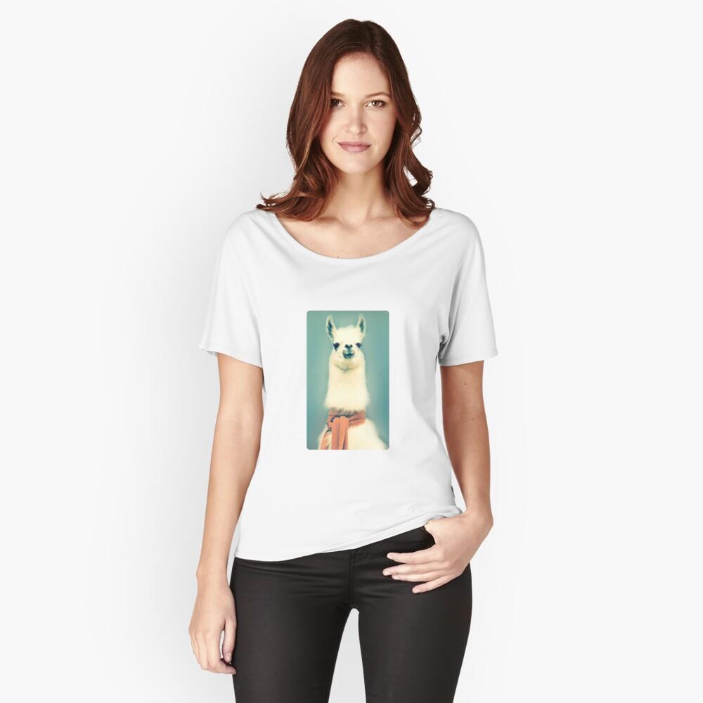Llama Camiseta ancha
