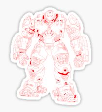 HulkBuster Sticker