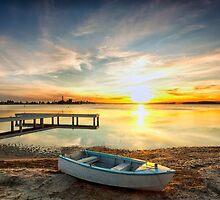 Belmont Sunset by Annette Blattman