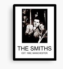 Da Smiths  Canvas Print