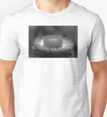 Black and White Paper Daisy T-Shirt