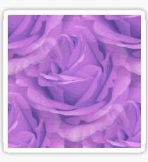 Seamless Purple Rose Vector Sticker