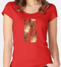 Ink Clouds Women's Fitted Scoop T-Shirt