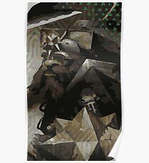 Male Dwarf Tarot Card Poster