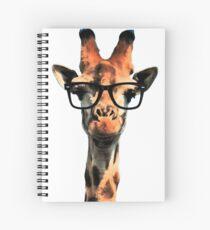 Hipster Giraffe Spiral Notebook