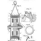 Elektrisches Fahrrad Patent - Circa 1895 von Marlene Watson