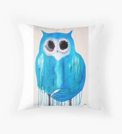 Harmony Owl Throw Pillow