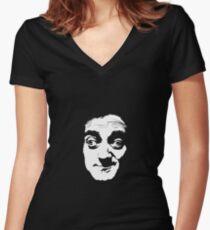 Young Frankenstein - Igor Women's Fitted V-Neck T-Shirt