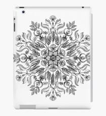 Thrive - Monochrome Mandala iPad Case/Skin