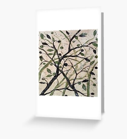 Black Olives Greeting Card