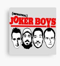 Joker Boys Canvas Print