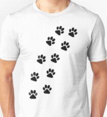 Dog Paw Track T-Shirt