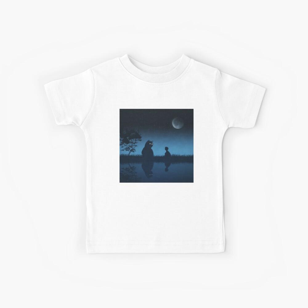 Der Freund der Nacht Kinder T-Shirt