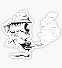 The Lonely Smoker Sticker