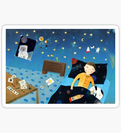 To The Stars II Sticker