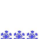Snowflake Lilliput's Skirt Print by ShionS3