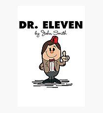 Dr Eleven Photographic Print