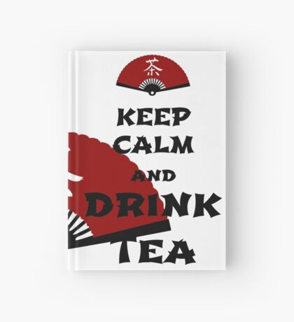 keep calm and drink tea - asia edition Notizbuch