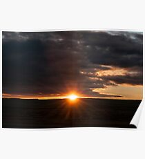 Sunrise on the Texas Panhandle Poster