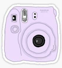 Purple Pastel Polaroid Tumblr Sticker