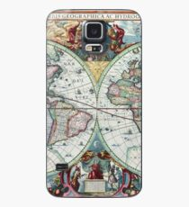 Beautiful Colorful Antique Vintage World Map Case/Skin for Samsung Galaxy