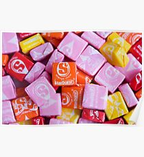 Starburst Candy Lovers Traum Poster