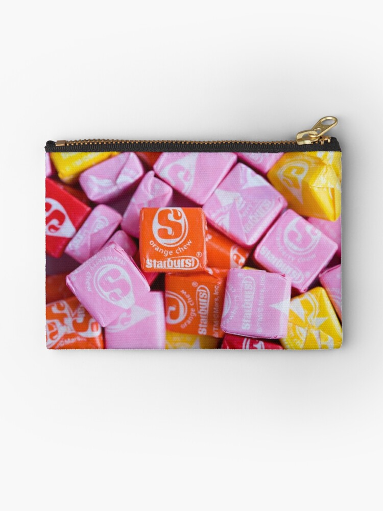 'Starburst Candy Lover's Dream' Zipper Pouch by melliott15