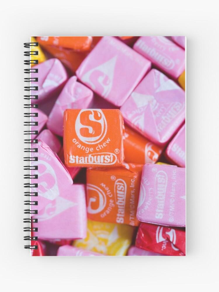 Starburst Candy Lover's Dream | Spiral Notebook