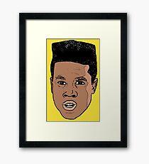 Malcolm Adekanbi (DOPE) Framed Print