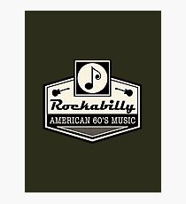 Rockabilly American 60's Music Photographic Print