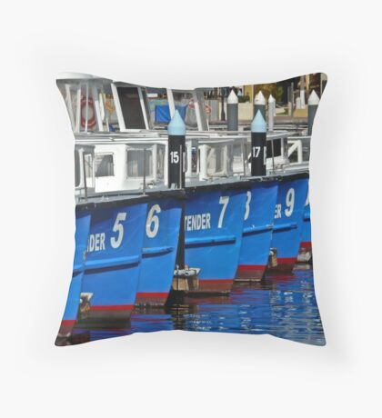 Tender numbers Throw Pillow