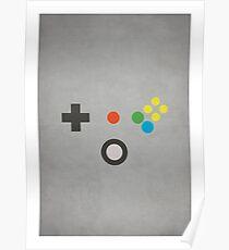 N64 - Nintendo Controller Minimalist Series Poster