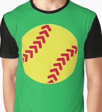 Softball Graphic T-Shirt