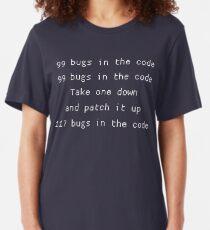 Camiseta ajustada 99 errores en el código