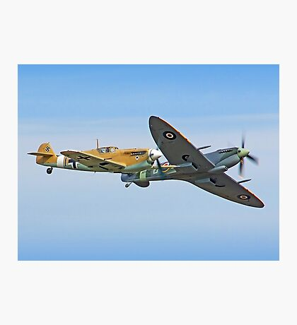 Breaking Left - Duxford Flying Legends 2013 Photographic Print