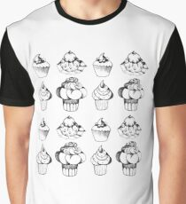 cup cake Graphic T-Shirt
