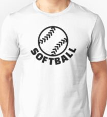Softball Unisex T-Shirt