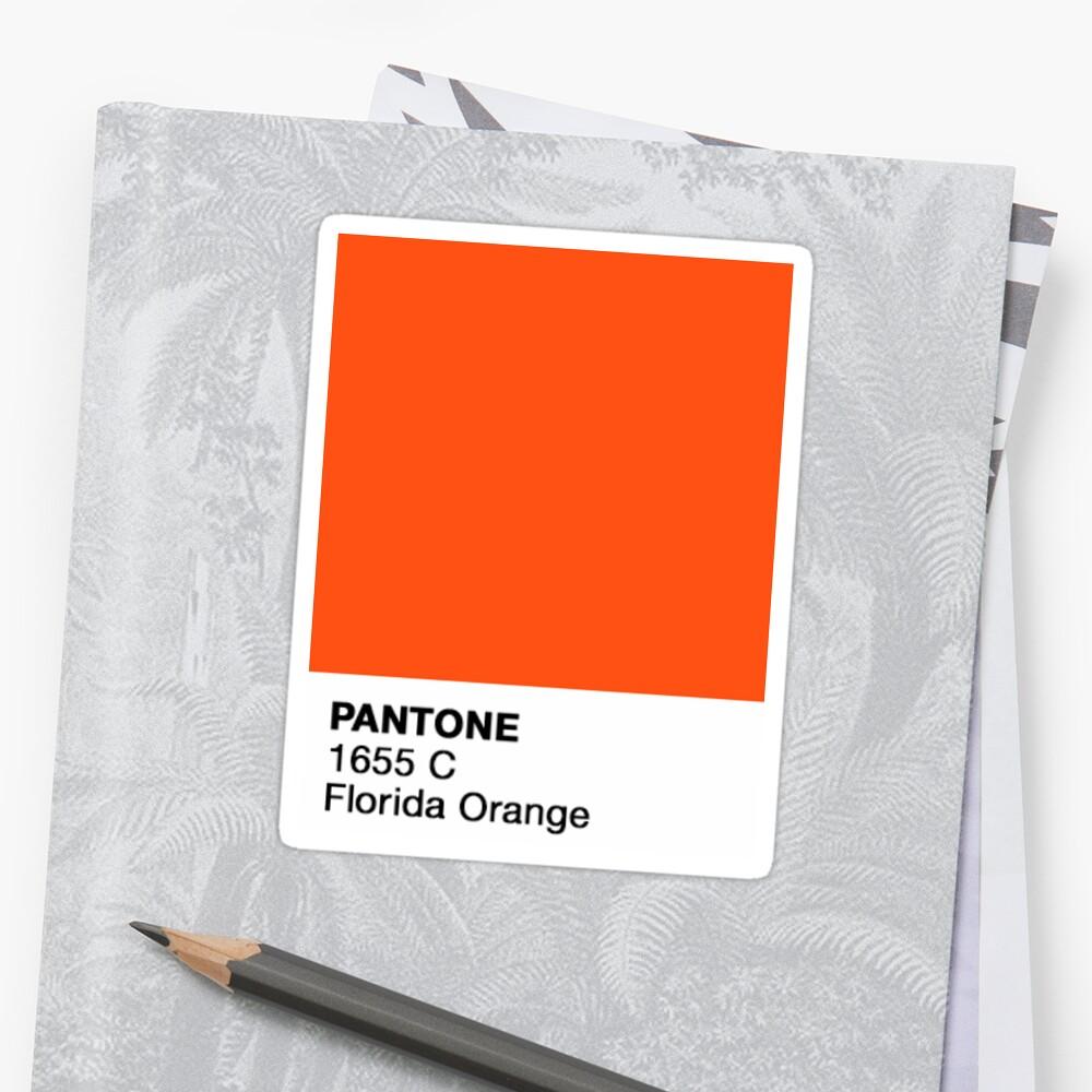 Pantone - UF Sticker