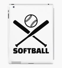 Softball iPad Case/Skin