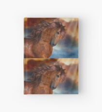 The Bay Stallion Hardcover Journal