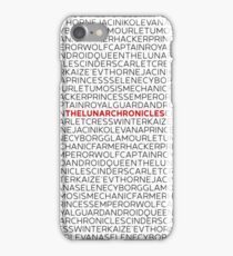 The Lunar Chronicles iPhone Case/Skin