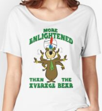 Yogi Bear - More Enlightened Than The Average Bear Women's Relaxed Fit T-Shirt
