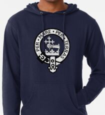 ddb6741bc Scottish Clan Donald Tartan and Crest Lightweight Hoodie