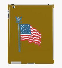 Patriotic Vintage Historic American Flag iPad Case/Skin