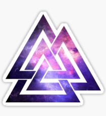 Trippy infinity triangle  Sticker