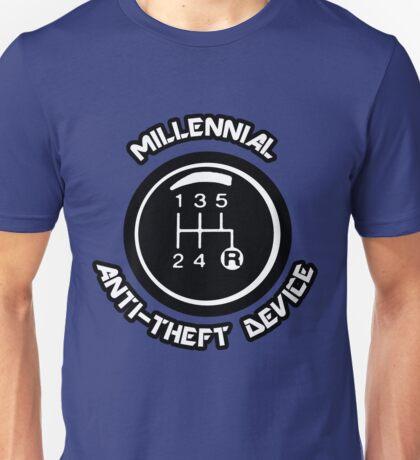 millennial anti theft device Unisex T-Shirt