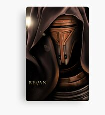 Revan Portrait Canvas Print