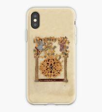 Decorated Initial D - D[eu]s qui Hodierna Die (1000 - 1025 AD) iPhone Case