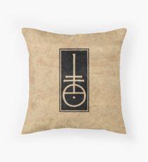 Nicolas Jenson's Typographer Mark Throw Pillow